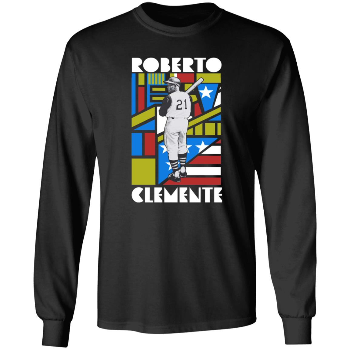 Roots Of Fight Merch Roberto Clemente T Shirt Hoodie