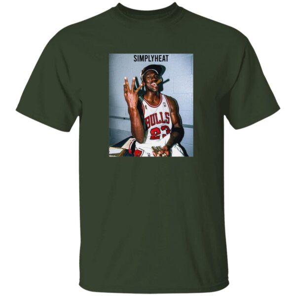 Simplyheat Michael Jordan Championship T Shirt Iamkickz