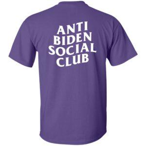 Letmetakeyourselfie Merch Anti Biden Social Club Shirt